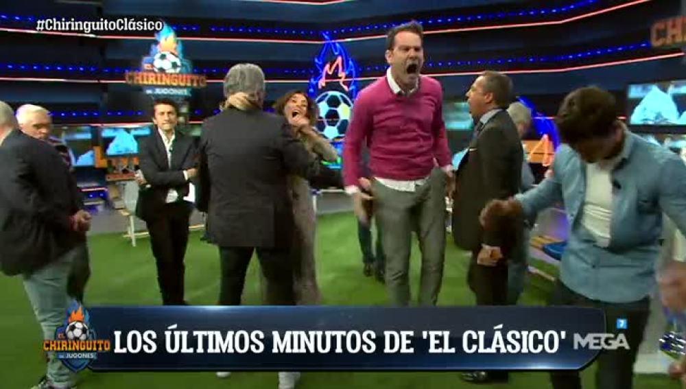 Gol del Barça en El Chiringuito