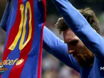 Lo que no se vio del gol de Messi