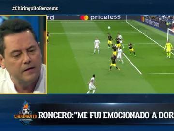 Roncero, emocionado con la victoria del Madrid