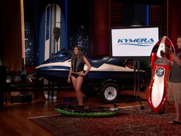Así es Kymera, la moto de agua con forma de tabla de surf