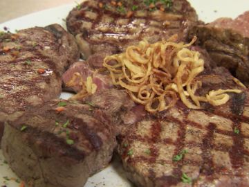 El gran reto del bistec: 2 kilos de carne