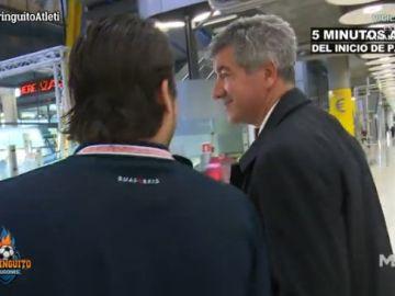 Juanfe Sanz con Gil Marín