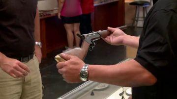 Un rifle experimental del siglo pasado puede valer mucho dinero en 'La casa de empeños'
